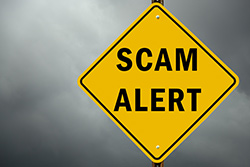 Be Alert to Scams